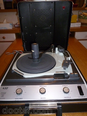Lectrophone platine disque avec ampli teppaz 432 avec sch ma - Ampli pour tourne disque ...