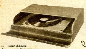 pick up platine disque seule la voix de son ma tre 331. Black Bedroom Furniture Sets. Home Design Ideas