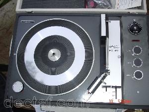 Lectrophone platine disque avec ampli ducretet thomson rc 491 - Ampli pour tourne disque ...