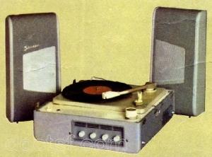 Lectrophone platine disque avec ampli philips ag 4116 avec sch ma - Ampli pour tourne disque ...