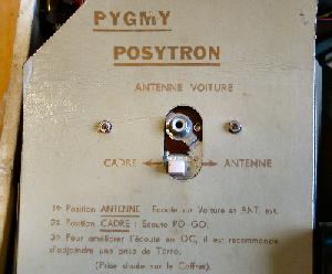 Cache du Pygmy Posytron